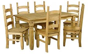 corona large extending dining table u0026 6 chairs