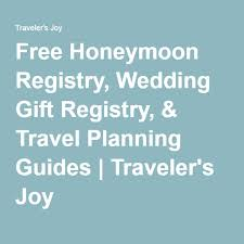 travel registry wedding free honeymoon registry wedding gift registry travel planning