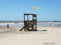 Texas Under Spain Flag Galveston Texas Beach Warning Flags Beach Treasures And Treasure