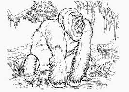 king kong 6 supervillains u2013 printable coloring pages