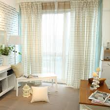 Curtains Decorations Decorations Vintage And Minimalist Checkered Curtain Design