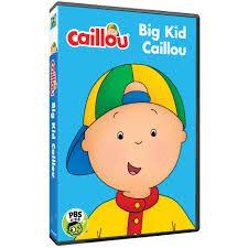 caillou big kid caillou dvd shop pbs org