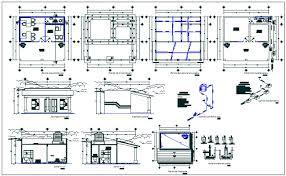 slaughterhouse floor plan floor plan view detail dwg file