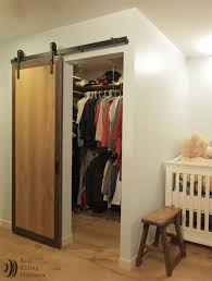 Sliding Barn Door For Closet Top Closet Barn Doors On Sliding Door Interior Barn Door Closet