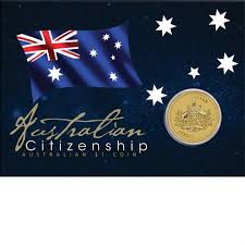 citizenship congratulations card 2013 australian citizenship 1 coin the perth mint