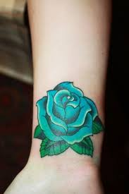 teal rose tattoo stencil pictures to pin on pinterest tattooskid