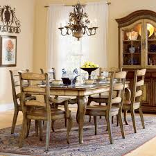 furniture tan dining table by sprintz furniture plus tan cabinet