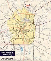 Texas Cities Map San Antonio Early History Houston Austin University Land