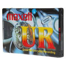 maxell cassette maxell cassette audio 90 min ur90 pas cher