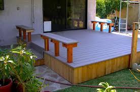 Trex Benches Custom Deck Design Patio And Gazebo Contractor In Redondo Beach