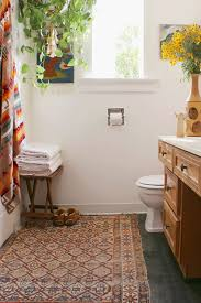 Rugs For Bathroom Want To Try A Rug In The Bathroom Miss Prints