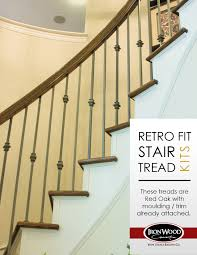 retrofit stair treads are used when you are removing carpet from
