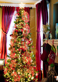 angel on top of christmas tree home decorating interior design