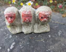 3 wise monkeys etsy