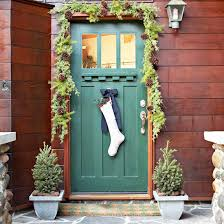 31 creative front door christmas decorations