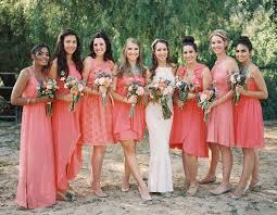 bridesmaid dresses coral best 25 coral bridesmaids ideas on coral bridesmaid