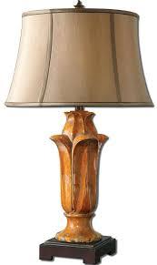 table lamps orange table lampshades vintage orange glass table