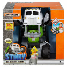monster jam toy trucks for sale matchbox stinky the garbage truck walmart com