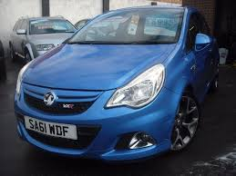 vauxhall corsa blue used 2011 vauxhall corsa vxr 3dr for sale in maidstone kent auto