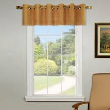 Window Valance Kits Buy Grommet Valances Window Treatments From Bed Bath U0026 Beyond