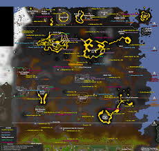Oldschool Runescape World Map by Osrs Map The Squad The Squad