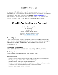 Hotel Resume Format Finance Controller Resumes Resume Templates Finance Resume Cv 12
