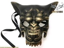 mens masks mens masquerade wolf mask animal haunted house party