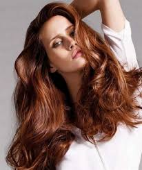 brown colour styles popular long hairstyle idea