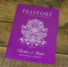 passport to love travel card style wedding invitation by ditsy