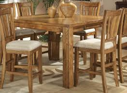 Dining Room Light Height by Oak Finish Counter Height Casual Dinette Table W Options