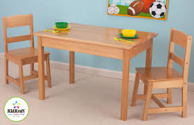 table and 2 chairs set kidkraft rectangle table and 2 chair set