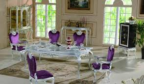 Ultra Modern Dining Room Furniture Plum Dining Room Chairs Pictures Including Purple Table Gallery