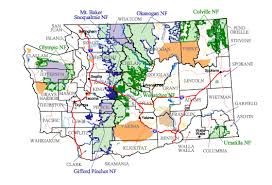 find maps buy and find washington maps forest service statewide index
