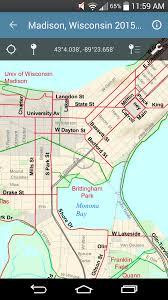 Madison Map Bikeverywhere Mobile Madison Bike Map