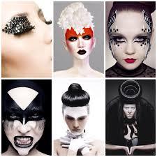 halloween makeup inspiration avant garde hair and make up inspirations culture inspiration