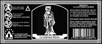 la nina negra u2013 angel de la santa muerte protector contra enemigos