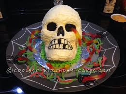 coolest homemade skulls cakes