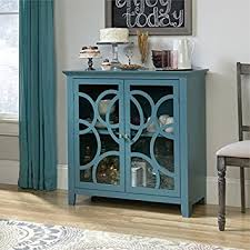 amazon com sauder shoal creek elise accent chest in moody blue