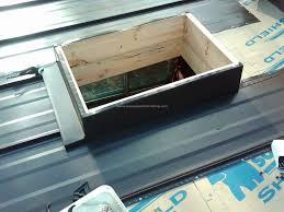 velux skylight metal roof flashing