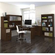 L Shaped Computer Desk With Hutch by Workstations Costco