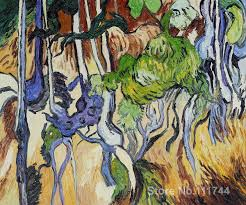 home decor paintings for sale hand painted art on canvas tree roots and tree trunks vincent van