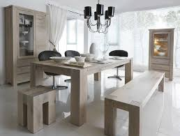 gray dining table and chairs farmhouse room rustic round grey