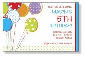 kids birthday invitation kids birthday invitation with stylish