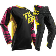 youth motocross boots thor 2017 mx new fuse air dazz magenta yellow youth motocross gear