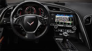 corvette stingray 2014 interior the retractable hi def screen inside the 2014 corvette