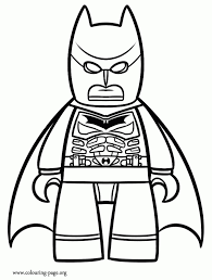 lego superman coloring pages regarding motivate to color an image