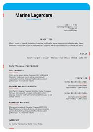 Word Resume Template 2014 Easy Resume Template Modest Resume Mycvfactory