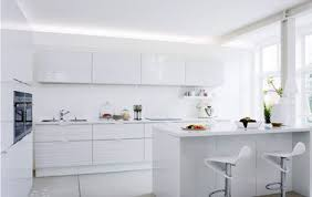 modele cuisine blanche cuisine blanche modèle tonique strie de chez fly