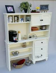 kitchen hutch buffet coffee station