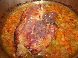 cuisiner rouelle de porc rouelle de porc confite au four la taverne de ginia